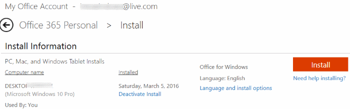 Download Office 2016 - Office 365