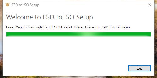 ESD to ISO terintegrasi