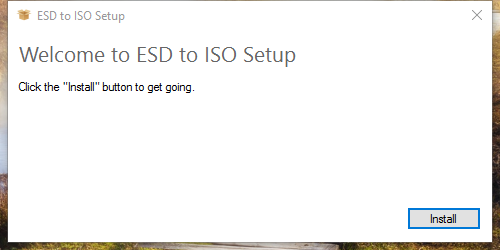 sudah cukup banyak aplikasi gratis yang sanggup kita gunakan untuk mengkonversi file ESD ke ESD to ISO: Tool Konversi File ESD Windows ke ISO