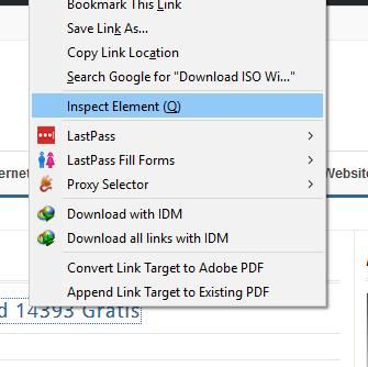 Inspect Element Firefox
