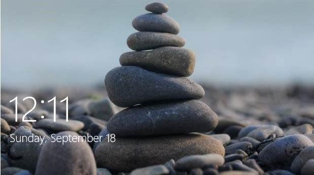 Lock screen Windows 10