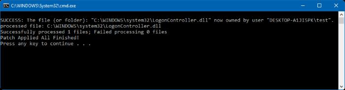LockScreenGone sukses di install