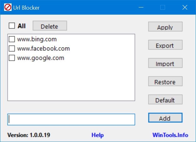 Era digital semakin sanggup kita rasakan cerdik balig cukup akal ini 2 Cara Praktis Memblokir Situs / Website di Windows 10