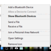 Cara Menampilkan / Menyembunyikan Icon Bluetooth di Windows 10