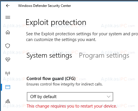 Windows Defender - Control Flow Guard