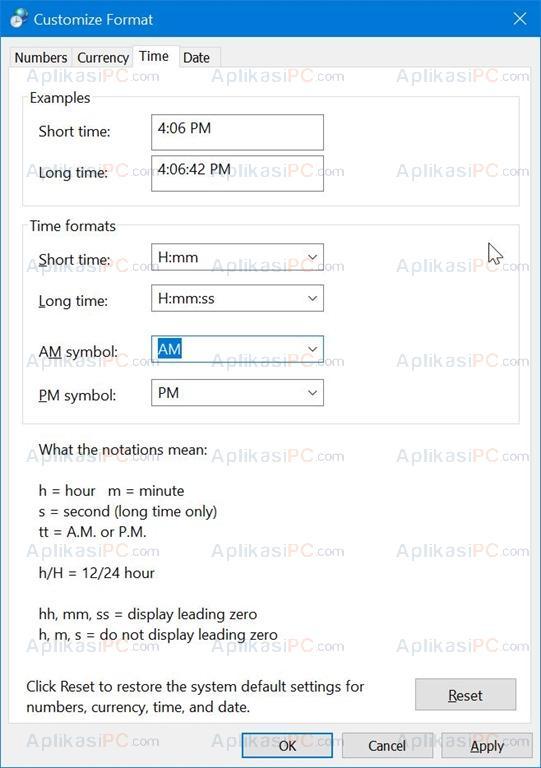 juga menampilkan tanggal dan waktu di desktop Cara Mengubah Tampilan Waktu ke 24 Jam di Windows 10