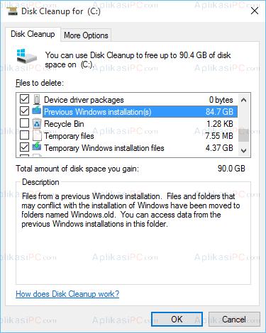 upgrade sistem operasi Windows Anda ke Windows  2 Cara Aman Menghapus Folder Windows.old di Windows 10