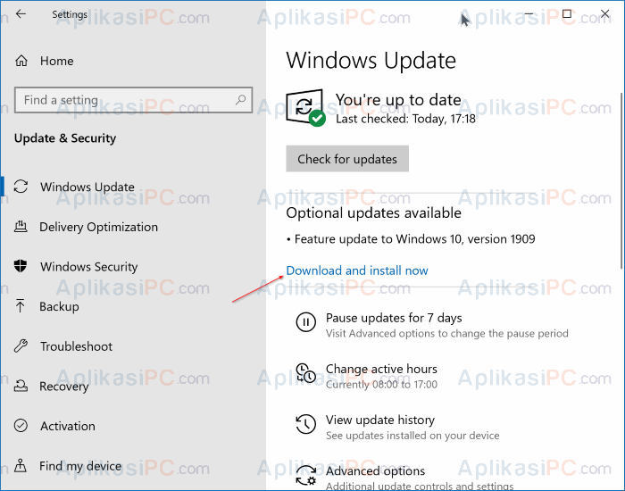 Update Windows 10 Terbaru Versi 1909
