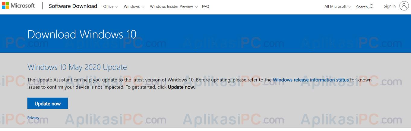 Download Update Assistant