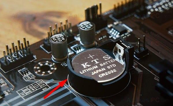 Ilustrasi: Baterai CMOS