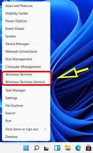 Cara Membuka Windows Terminal PowerShell