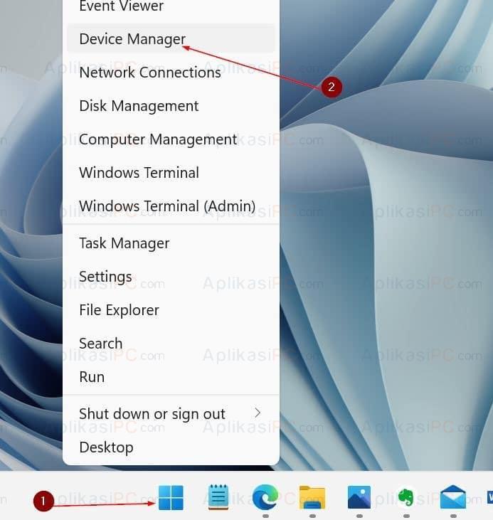 Cara membuka Device Manager di Windows 11