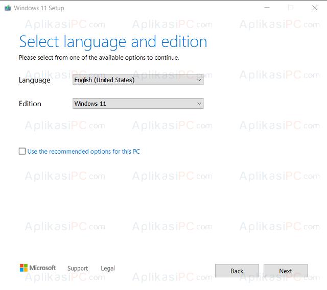 Media Creation Tool - Windows 11